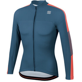 Sportful Bodyfit Pro Thermal Jersey Men blue stellar/red fluo
